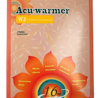 Acu-warmer. Natural Heating Patch - Angelica Root & Dried Ginger